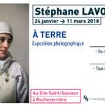 Flyer : Exposition Stéphane Lavoué au site Saint-Sauveur Terres de Montaigu