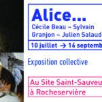 Flyer : Exposition Alice... au Site Saint-Sauveur Terres de Montaigu