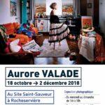 Flyer : Exposition Aurore Valade au Site Saint-Sauveur Terres de Montaigu