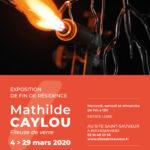 Flyer : Mathilde Caylou Site Saint-Sauveur Terres de Montaigu
