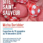 Flyer : Micha Deridder Site Saint-Sauveur Terres de Montaigu