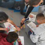 Photo : atelier scolaire Site Saint-Sauveur Terres de Montaigu