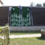 Photo : Vue de l'exposition Carl Hurtin 3 Site Saint-Sauveur Terres de Montaigu