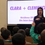 Photo : CC visite scolaire Site Saint-Sauveur Terres de Montaigu