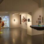 Photo : exposition le fil inachevé Micha Deridder Site Saint-Sauveur Terres de Montaigu