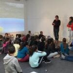Photo : rencontre avec les scolaires Site Saint-Sauveur Terres de Montaigu