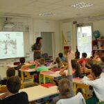 Photo : rencontre scolaires CL Site Saint-Sauveur Terres de Montaigu