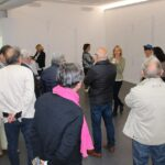 Photo : vernissage de l'exposition Keita Mori Site Saint-Sauveur Terres de Montaigu