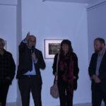 Photo : vernissage en présence DL Jonas Site Saint-Sauveur Terres de Montaigu
