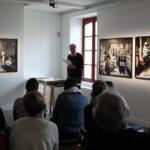Photo : visite de Jean Gorvan au Site Saint-Sauveur Terres de Montaigu