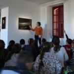 Photo : visite scolaire 3 au site Saint-Sauveur Terres de Montaigu
