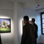 Photo : vue de l'exposition 2 Aurore Site Saint-Sauveur Terres de Montaigu