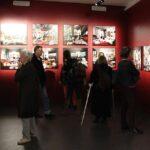Photo : vue de l'exposition Aurore au Site Saint-Sauveur Terres de Montaigu