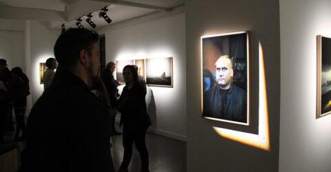 Photo : vue de l'exposition A terre au site Saint-Sauveur Terres de Montaigu