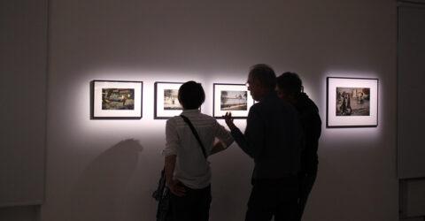 Photo : vue de l'exposition le réel autrement Irène Jonas au Site Saint-Sauveur Terres de Montaigu