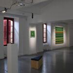 Photo : vue de l'exposition Carl Hurtin Site Saint-Sauveur Terres de Montaigu