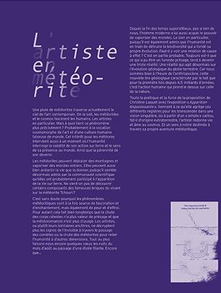Photo : couverture édition Christine Laquet au site Saint-Sauveur - Terres de Montaigu